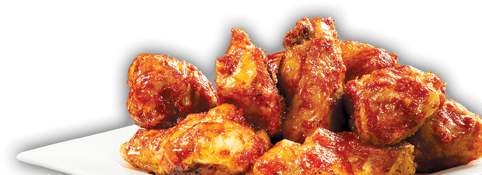Chicken wing png. Pizzatown menu wings