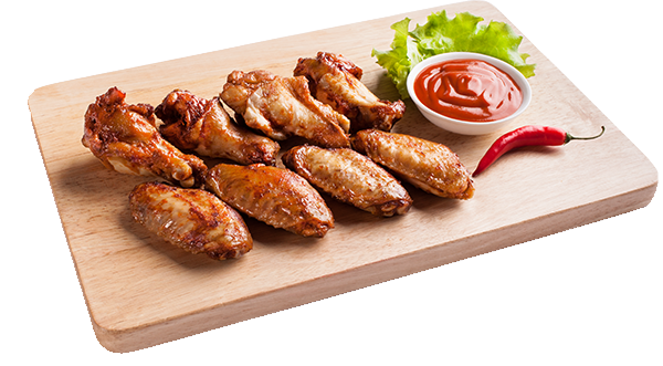 Chicken wing transparent png. Wings hot sauce