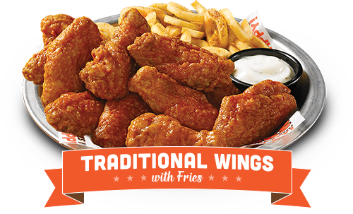 Chicken wings and fries png. Hooters national wing day