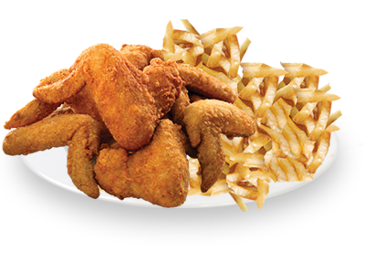 Chicken wings and fries png. Wing platter pizza paradise