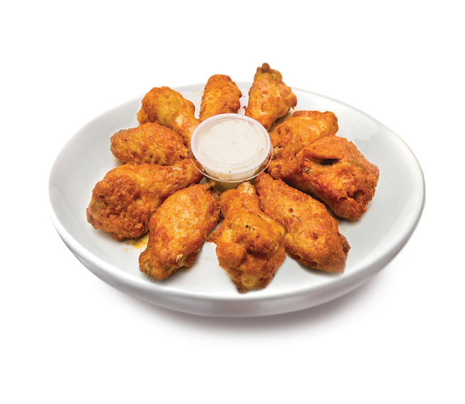 Chicken wings png. Buffalo supreme pizza
