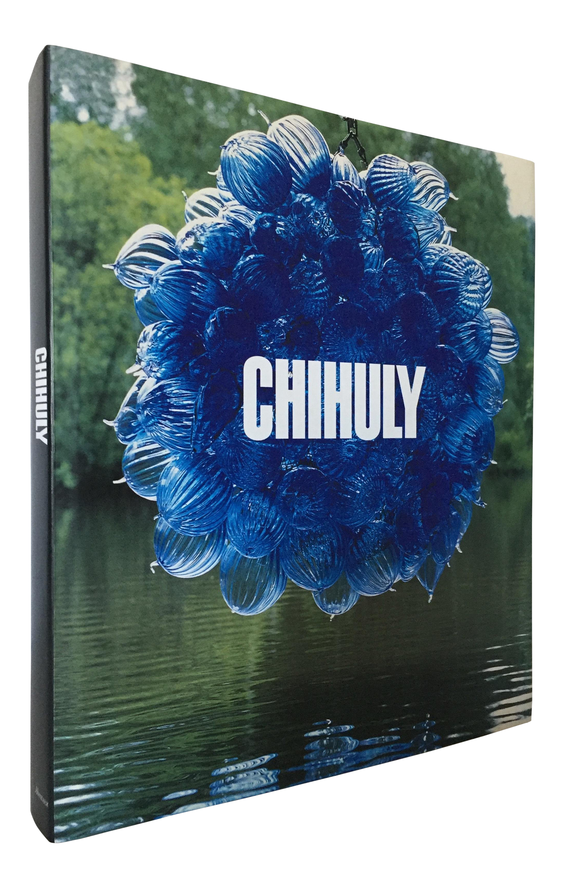 Chihuly drawing poster. Signed by artist author