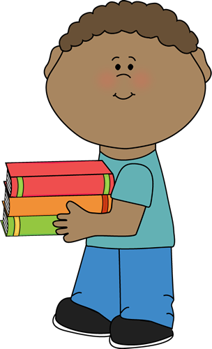 Reading vector boy. Book clip art images