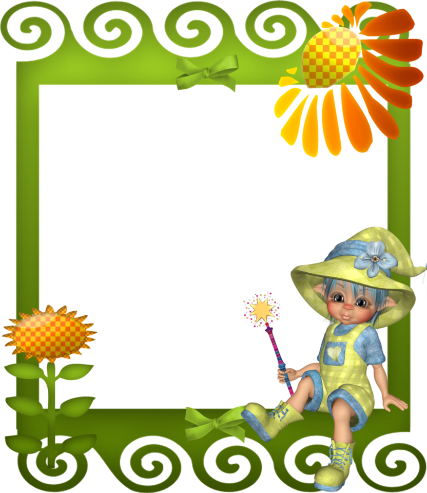 Child frame png. Sunflower by mysticmorning on
