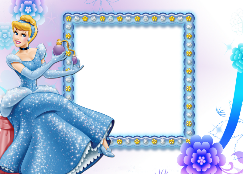 Child frame png. Beautiful transparent with cinderella