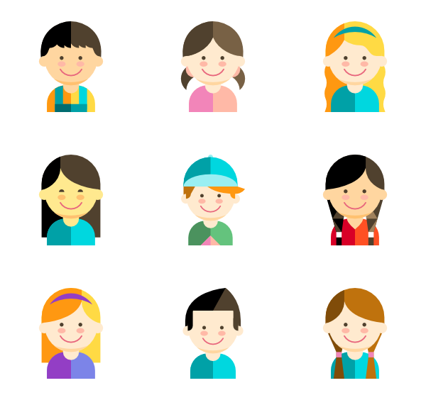 Child icon png. Packs vector svg