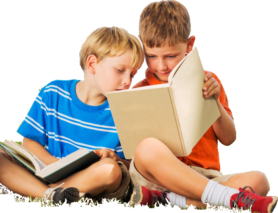 Child reading png. Education learning book kids