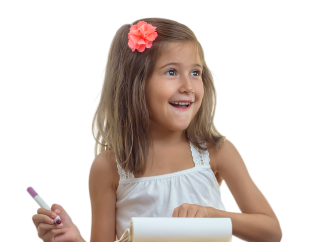 Child transparent png. Happy girl free images