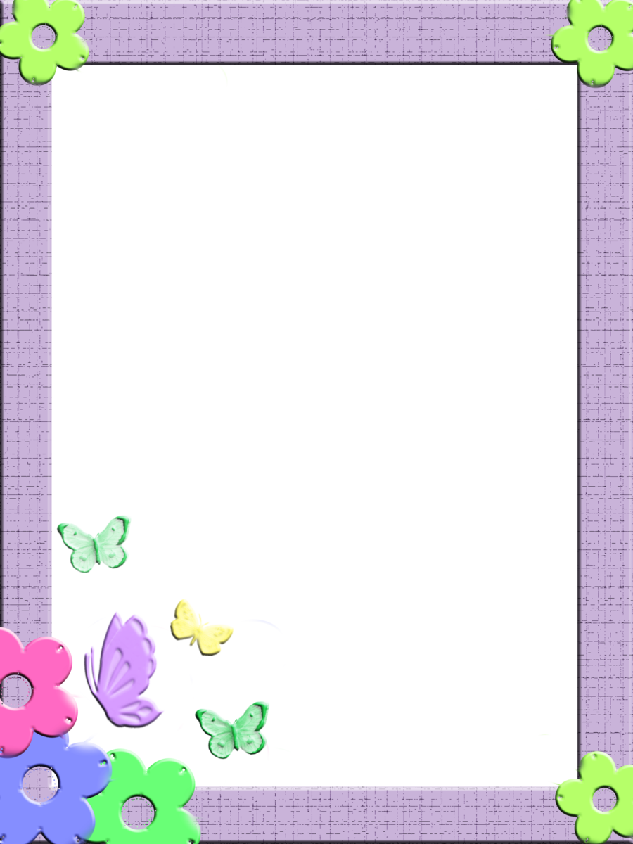Children border png. Free frames and borders