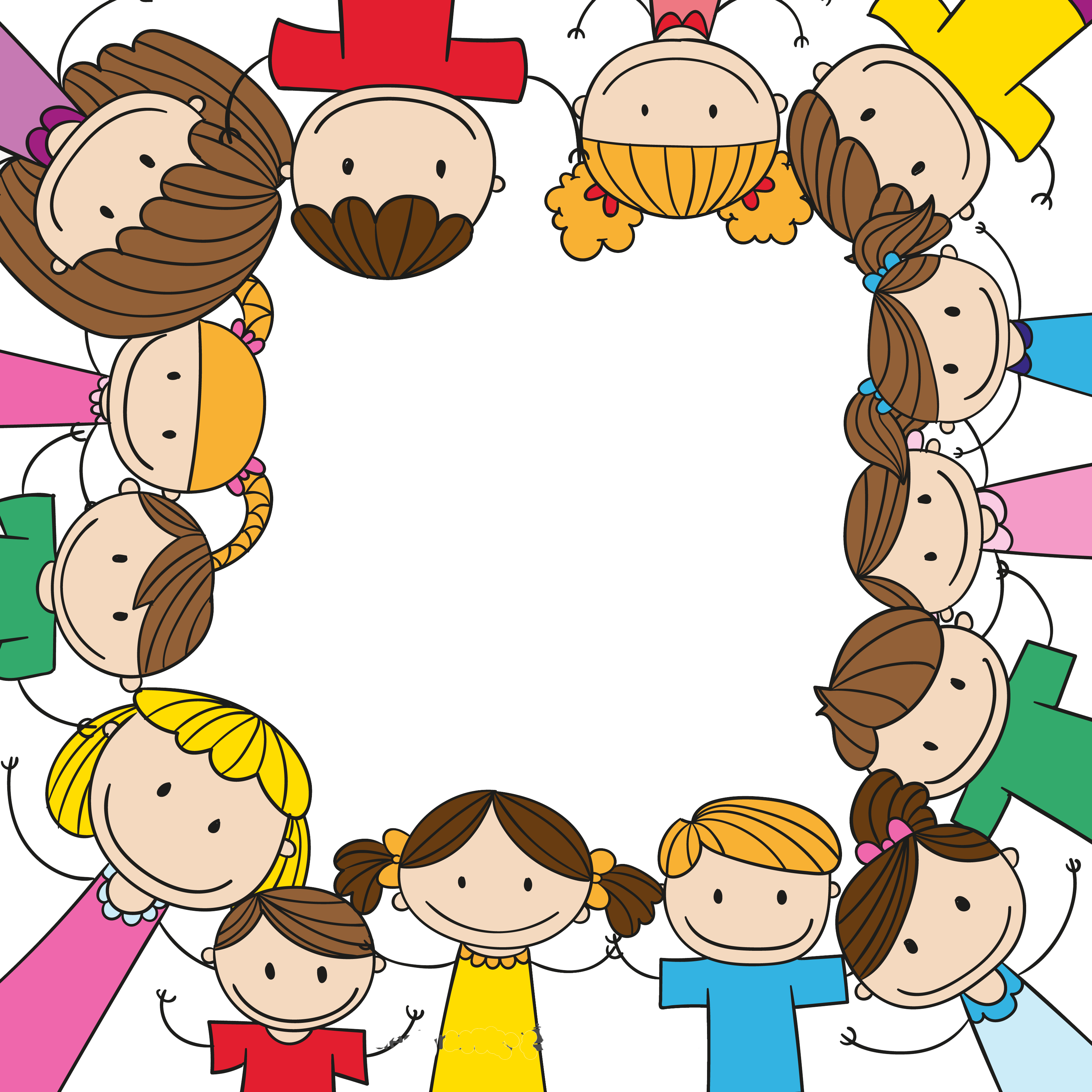 Children border png. Child play clip art