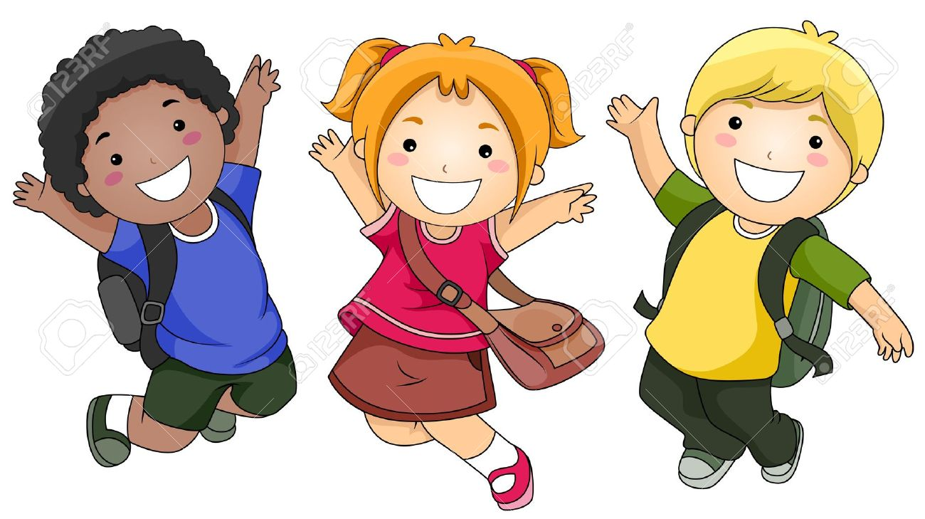 Children clipart library. Free cartoon download clip
