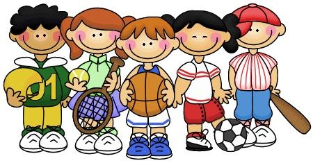 Children clipart sport. Sports kids clip art