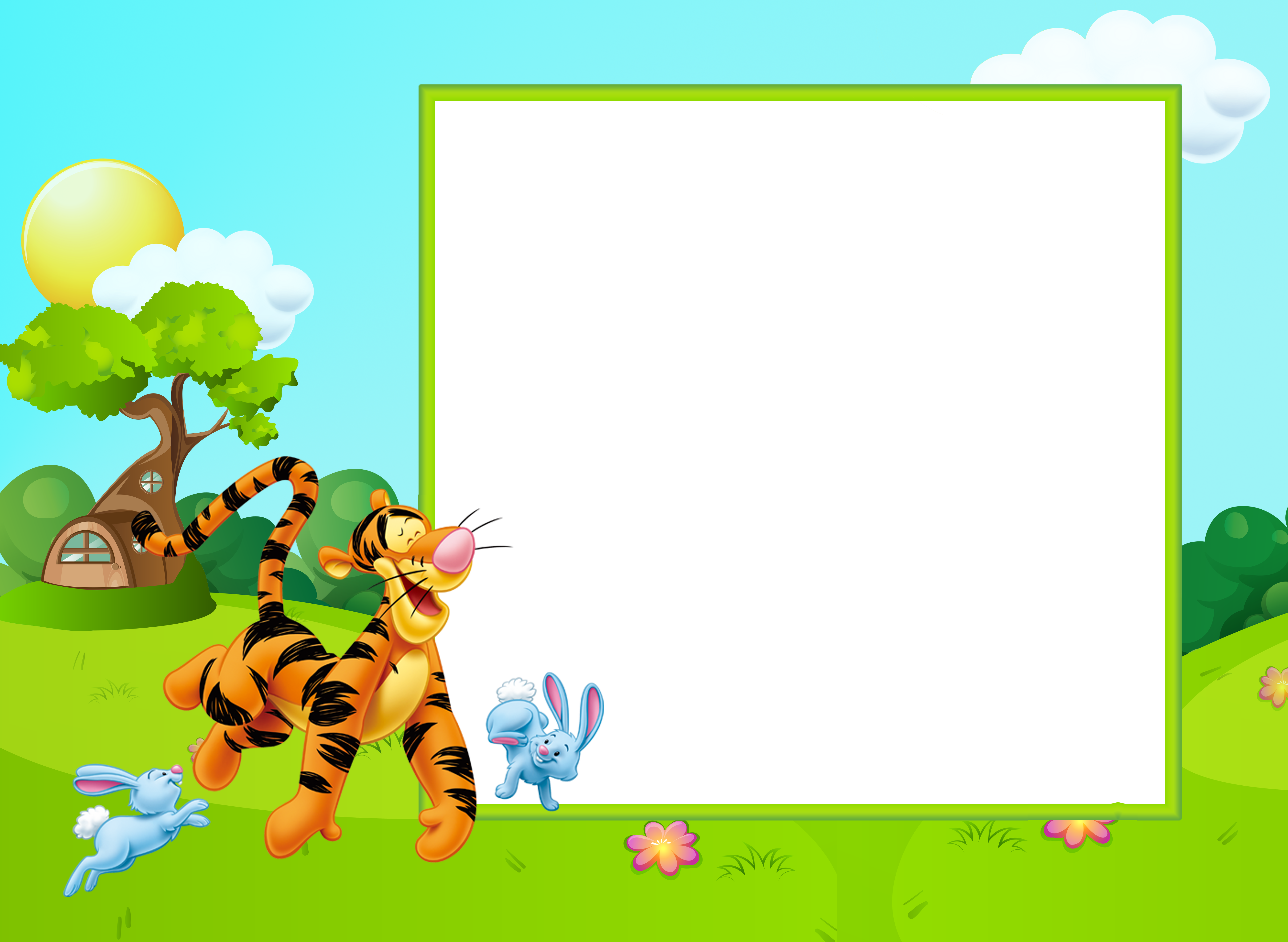 Children frame png. Cute kids transparent with