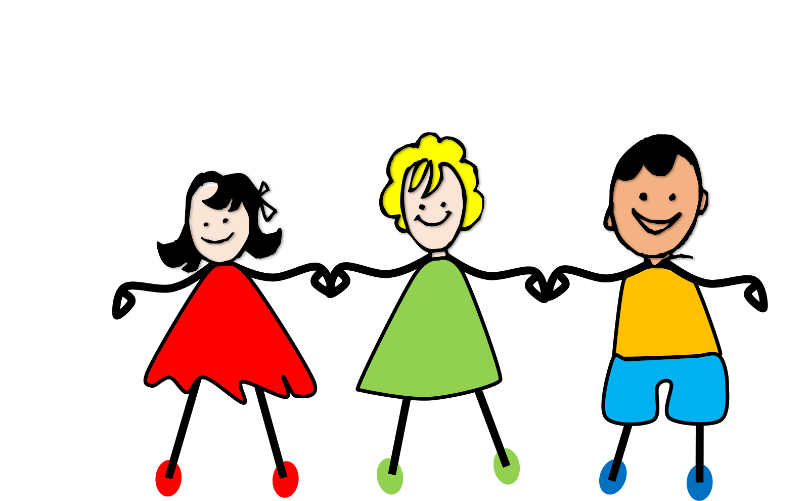 Kids holding hands png. Collection of clipart