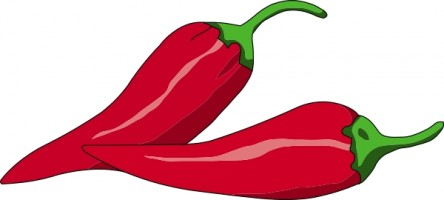 Red . Chili clipart library