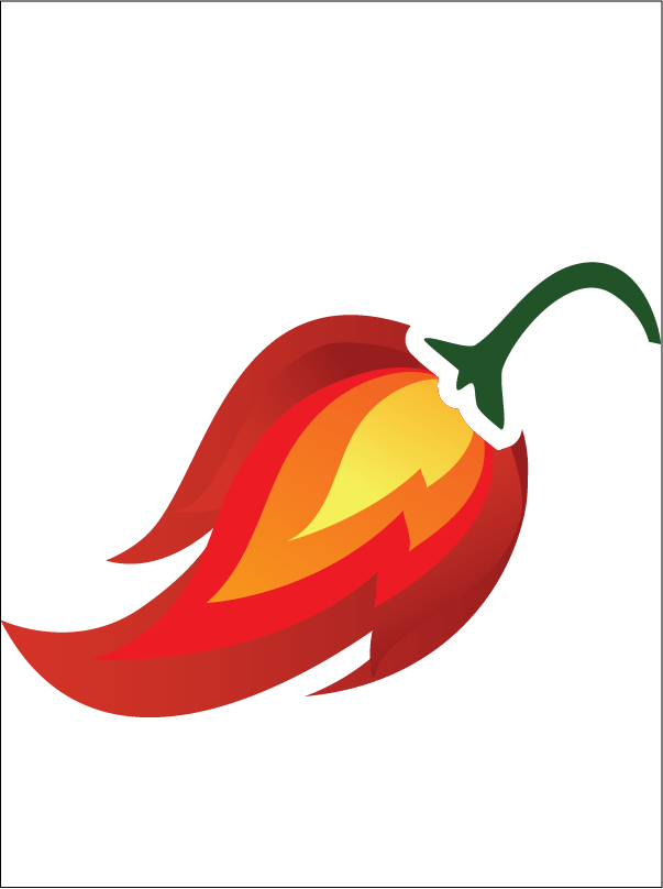 chili drawing ghost pepper