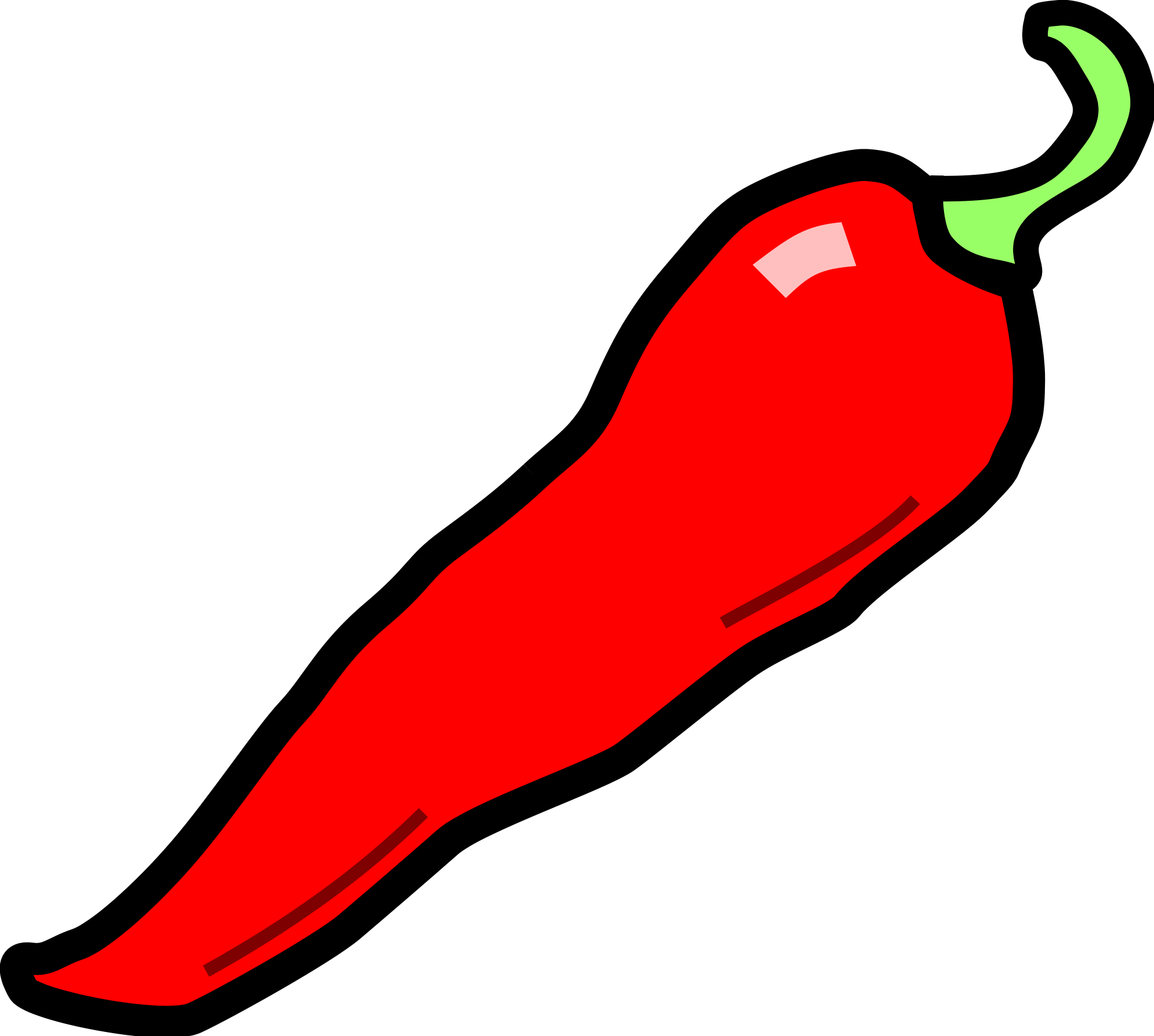 Chili drawing green chilli. Collection of free clipart