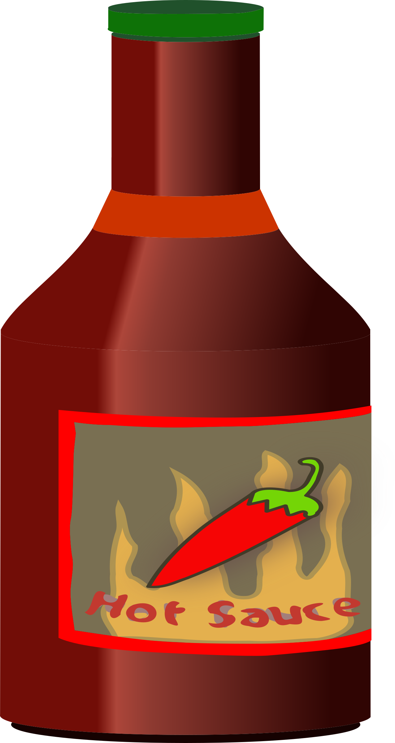 Chili drawing hot sauce. Collection of clipart