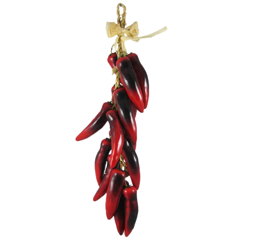 Chili drawing ristra. Decorative gifts from new
