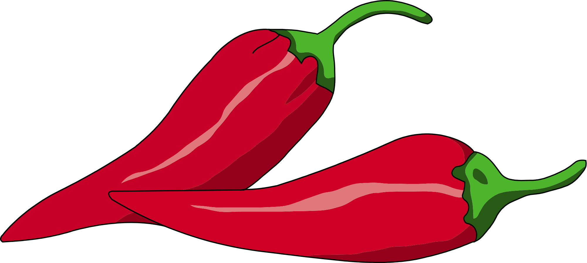 Chili drawing svg. File peperoncino pepper fra