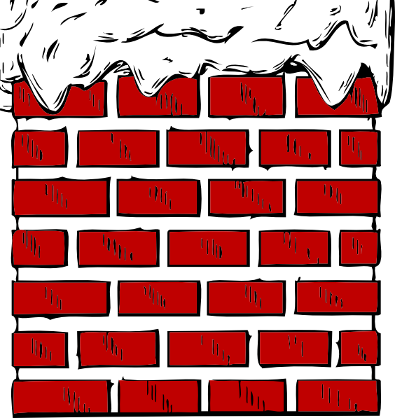 Chimney clipart. With snow clip art