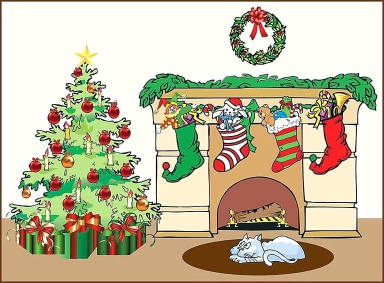 Chimney clipart stocking clipart. Fireplace with stockings holiday