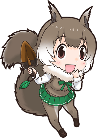 Japanese japari library the. Teeth clipart squirrel png library