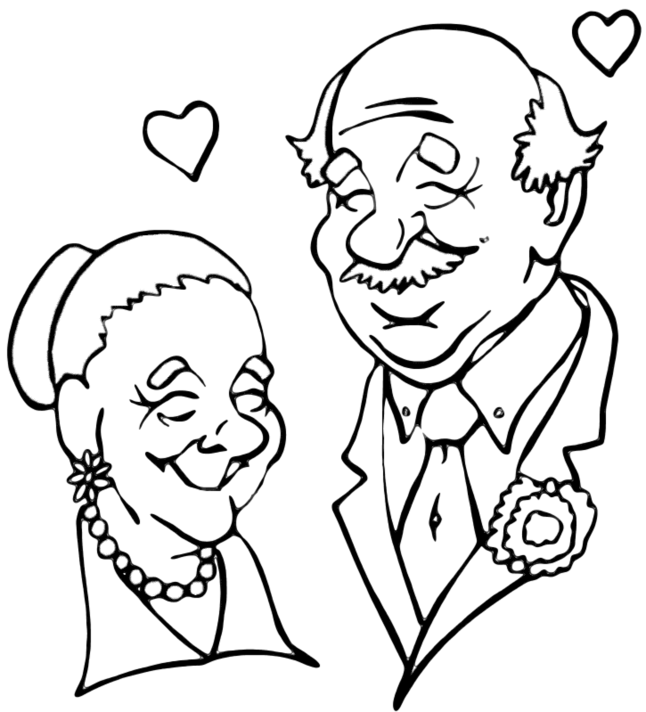 Chin clipart black and white. National grandparents png images
