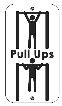 Chin clipart chin up. Single bar individual fitness