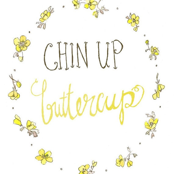 Chin clipart chin up. Tracks radio buttercup