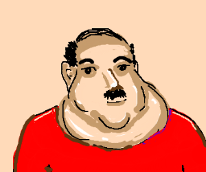 Chin clipart double chin. The largest in universe
