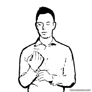 Chin clipart hand on. Body language and social
