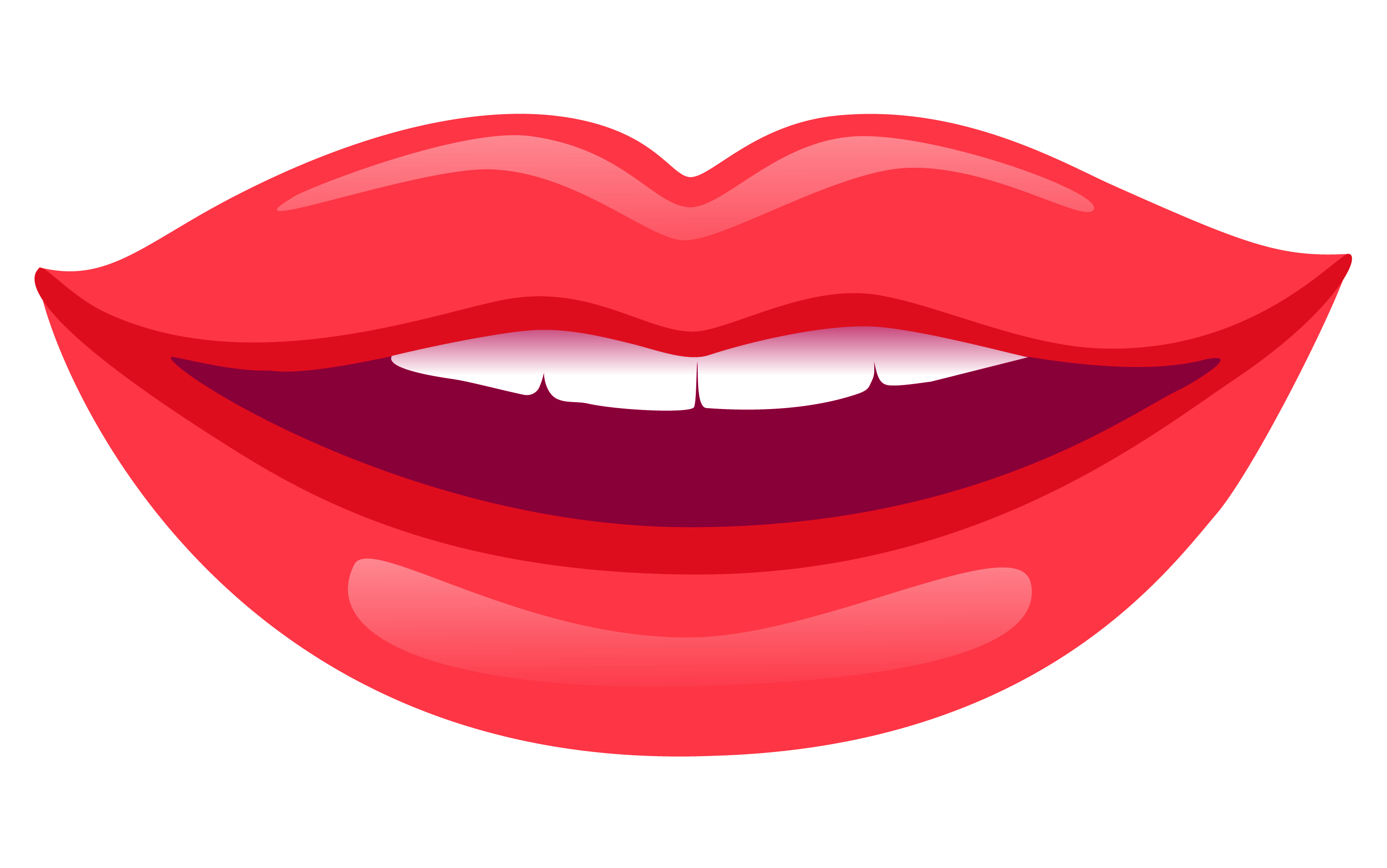 red smile png