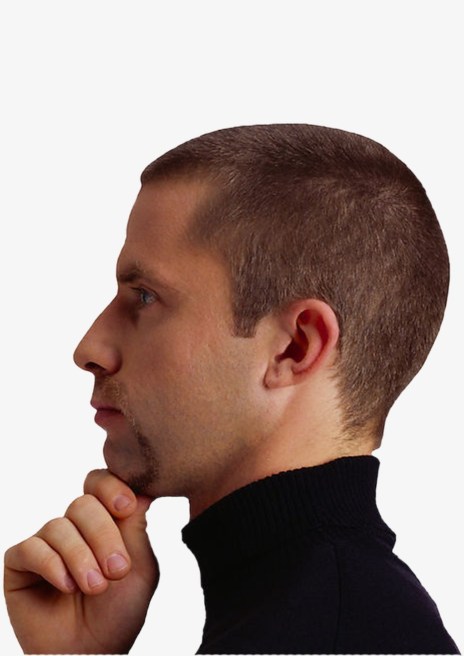 Chin clipart transparent. Foreign men background material