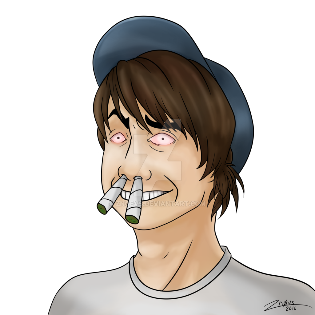 Chin drawing leafy. Leafyishere by znoevs on