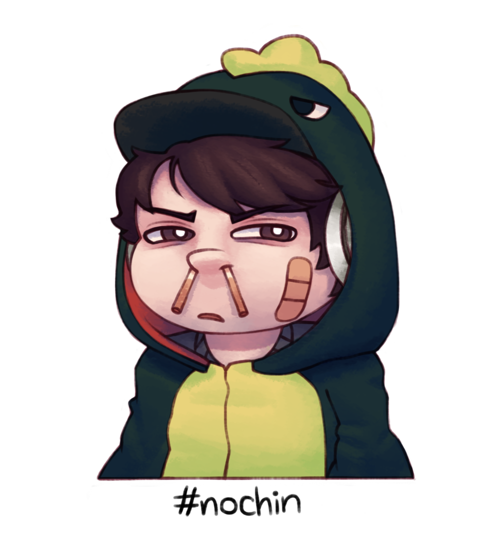 Chin drawing leafy. This is my bullshit