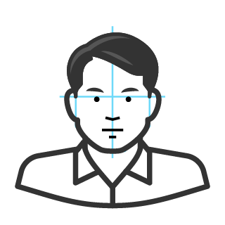 Drawing avatars shoulder. How to create filled
