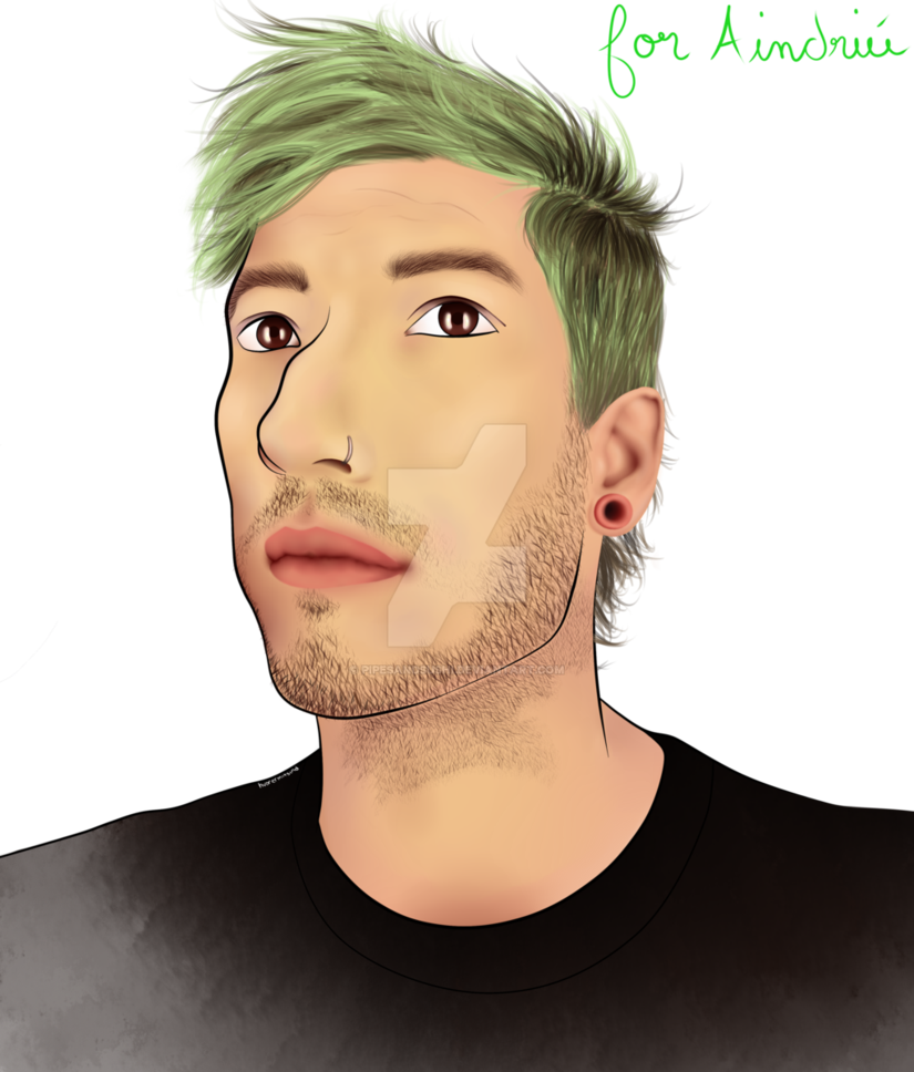 Semi drawing realistic. Josh dun by pipesandsushi