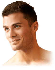 Chin drawing strong jawline. Implant augmentation austin anthony