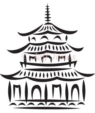 china clipart china pagoda