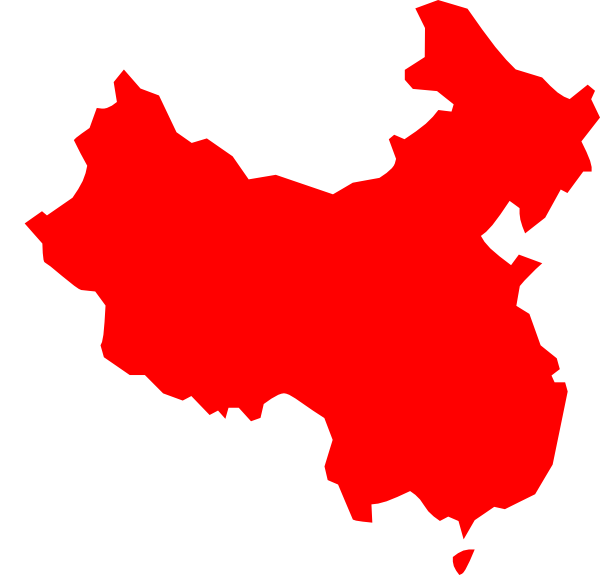 Map silhouette at getdrawings. China clipart clipart free download