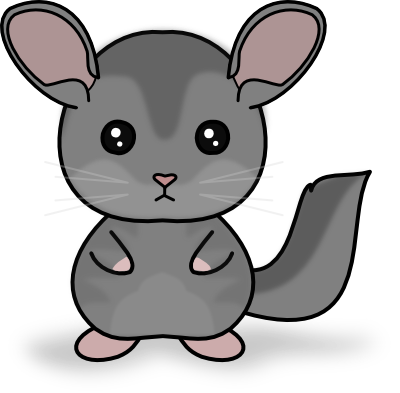 Chinchilla footprint png. Dd kawaii chibi by