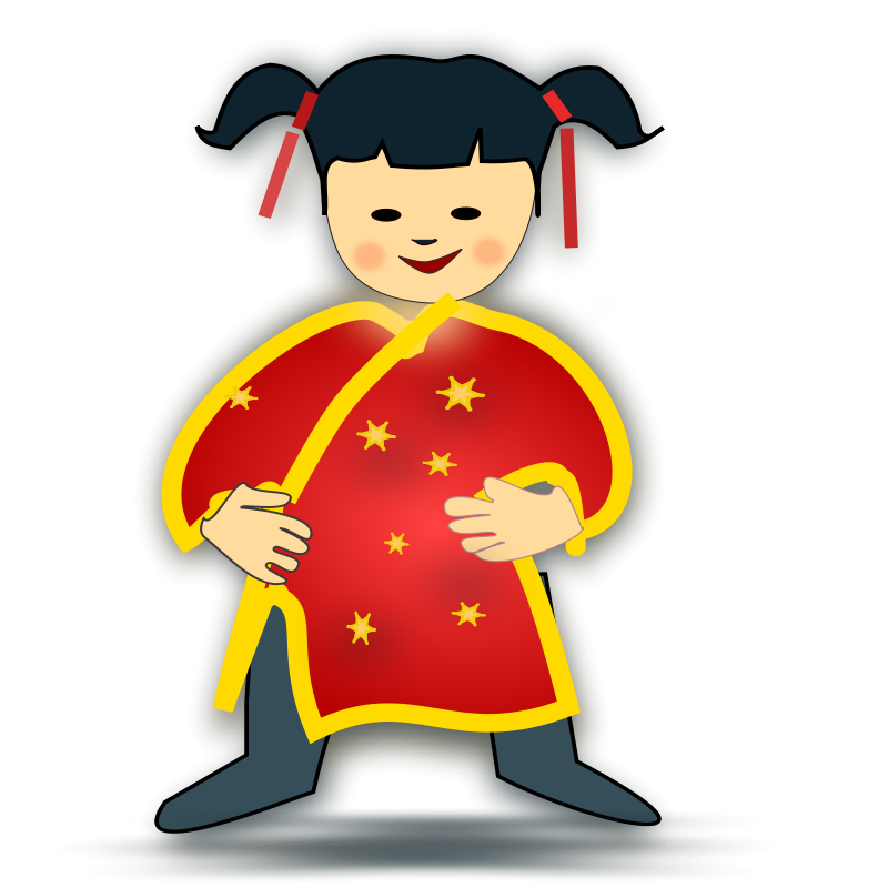 Chinese clipart costume chinese. Free download on cognigen