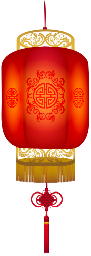 Chinese clipart lamp chinese. Hanging lantern png clip
