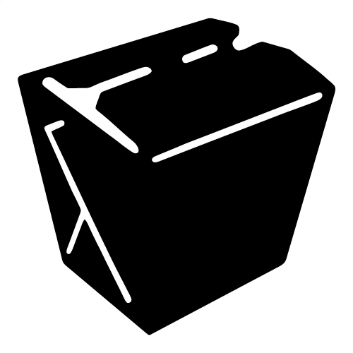 Take out box clip. Chinese clipart takeout chinese picture free