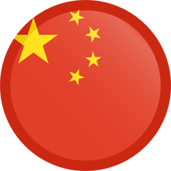 China transparent emoji. Flag icon country flags