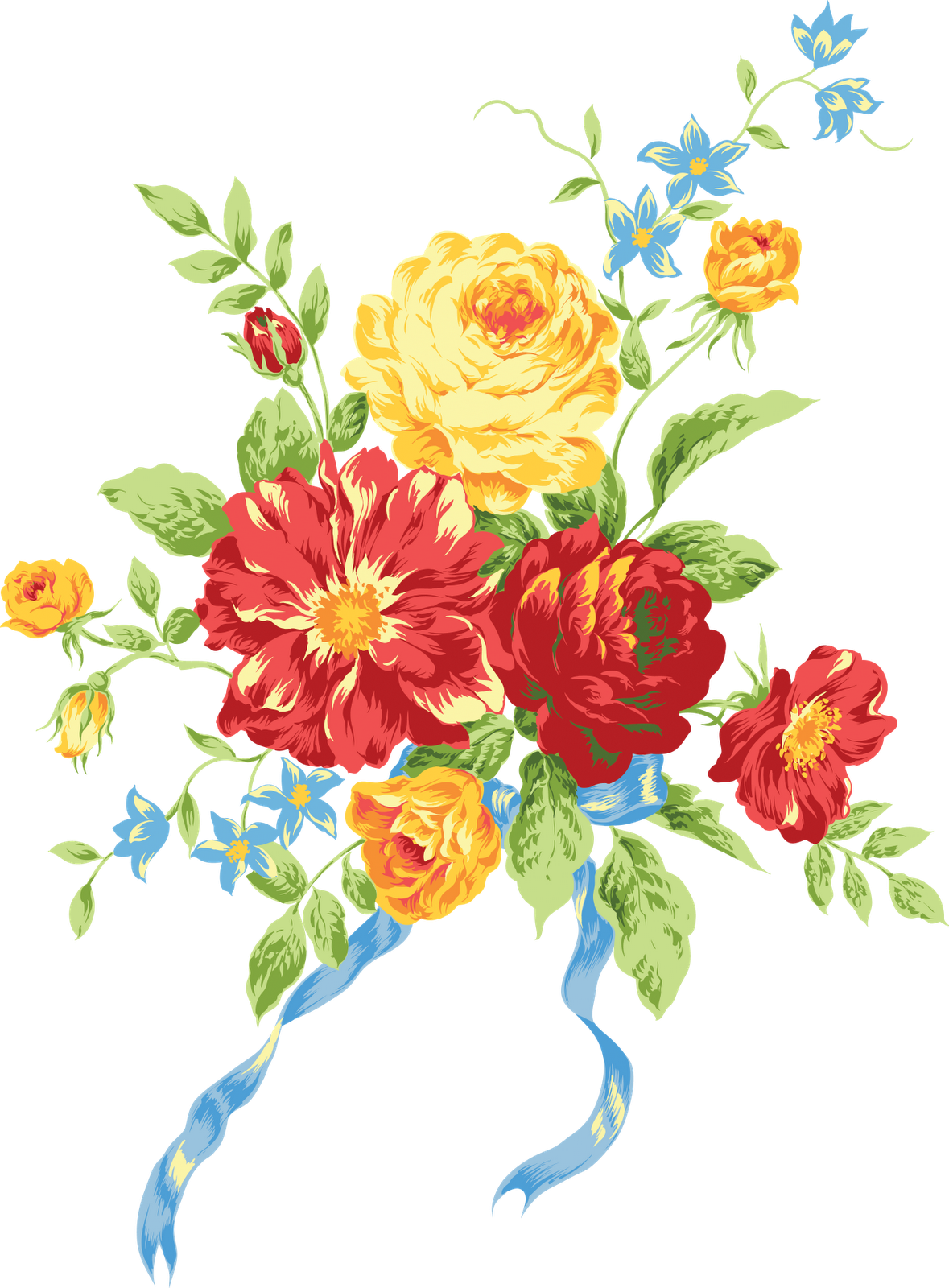 Chinese flowers png