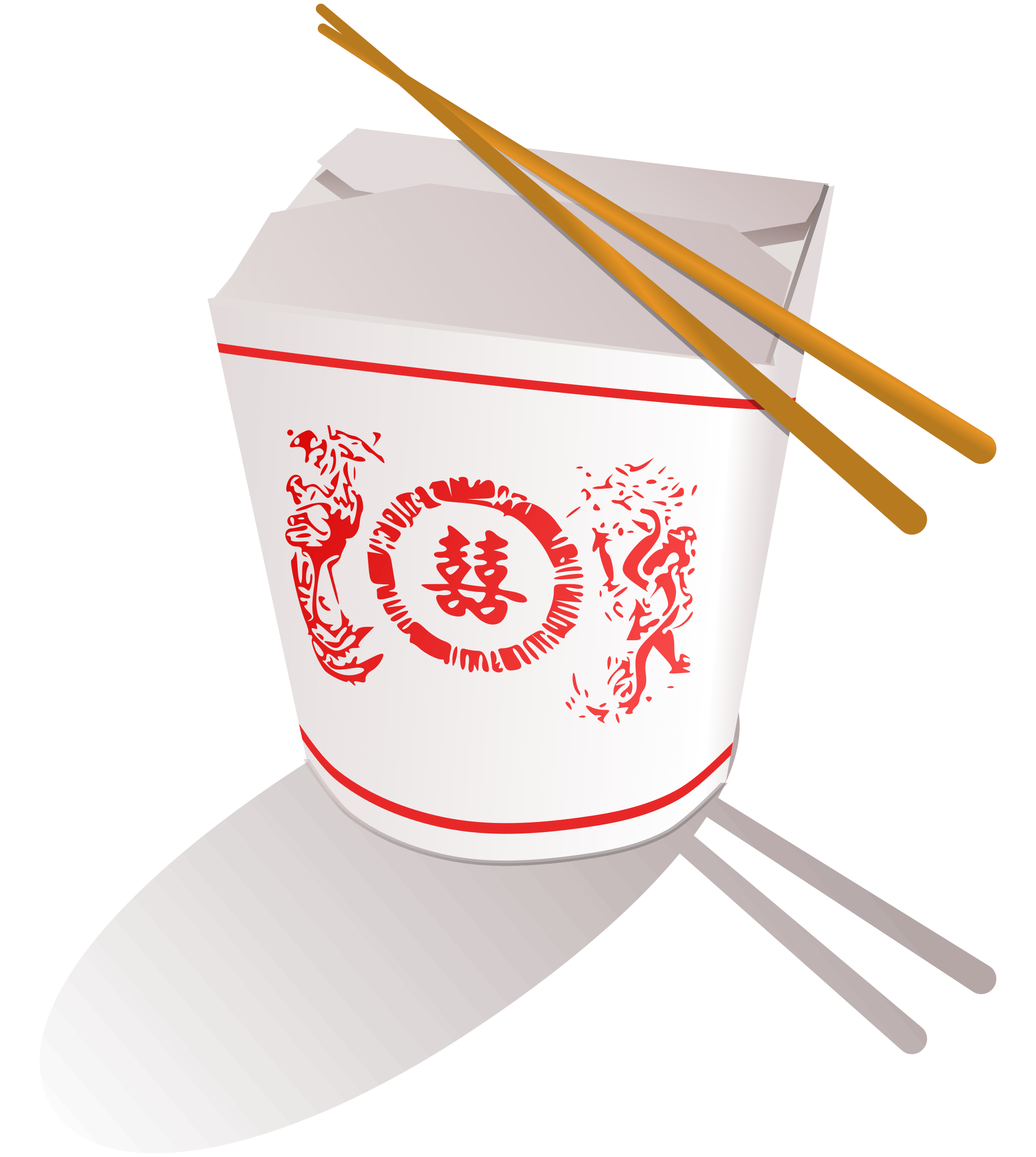 Chinese food box png. Transparent images stickpng