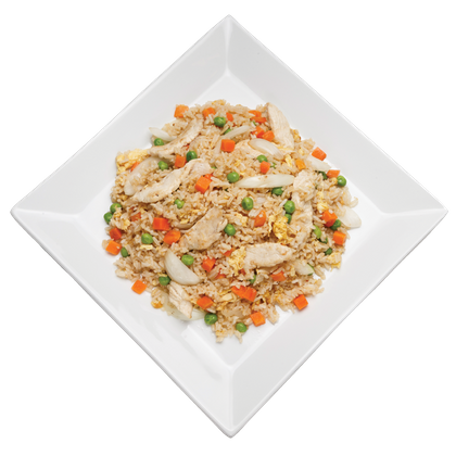 Shrimp fried rice png. Asian and chinese food