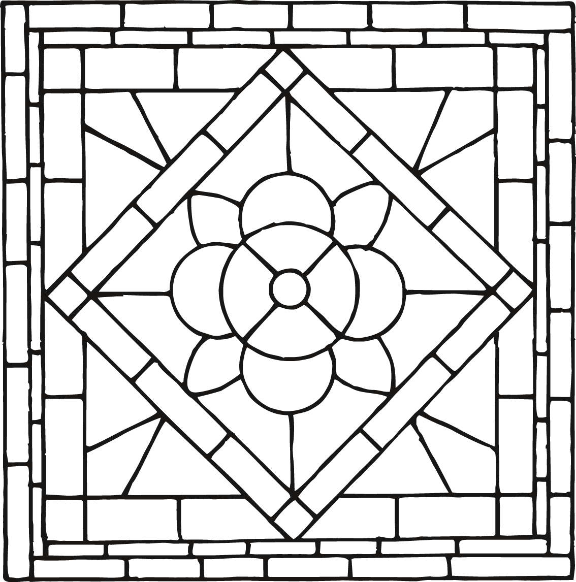 Window motif drawing traditional. Chinese patterns png image freeuse download